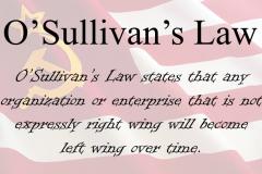 O'Sullivan's Law